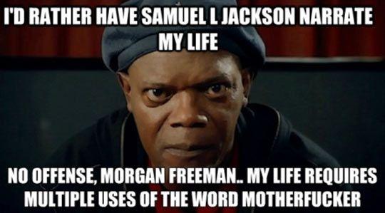 No offense, Morgan Freeman...