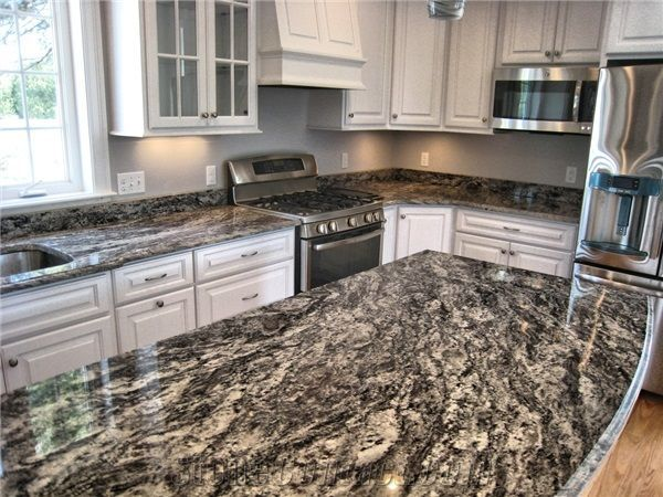 Dark Granite Countertops Pros And Cons Granite Countertops Kitchen Outdoor Kitchen Countertops Replacing Kitchen Countertops