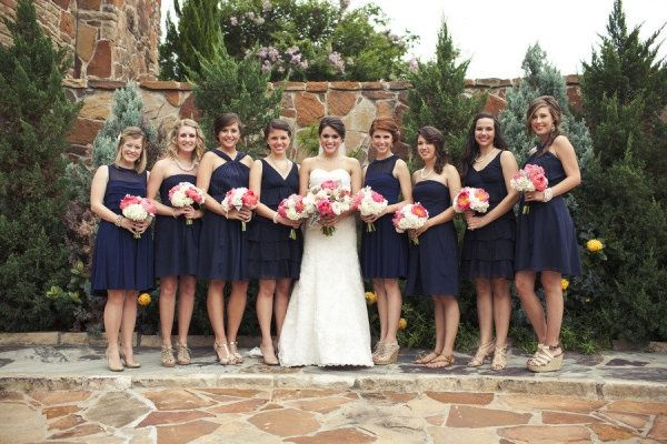 Best 25+ Mismatched Navy Bridesmaids Ideas On Pinterest