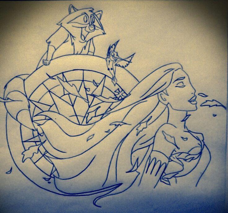 Best 25+ Disney Tattoos Pocahontas Ideas On Pinterest