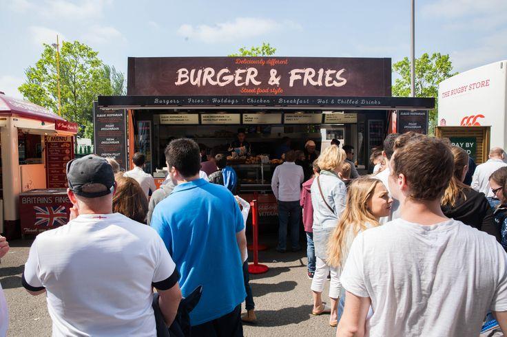 Yet more choice for food at Twickenham Stadium Match Days