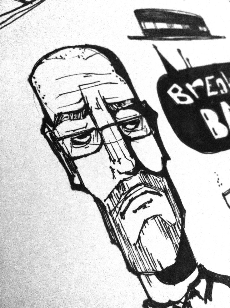 Breaking bad sketch