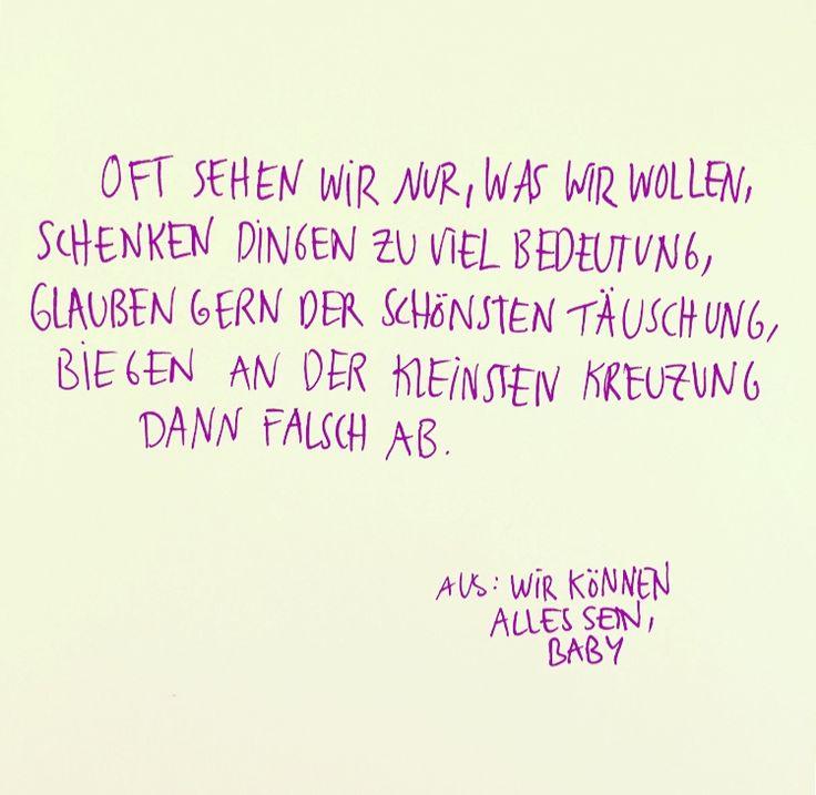 """Auszug aus Julia Engelmanns Buch """"Wir können alles sein, Baby""""."""