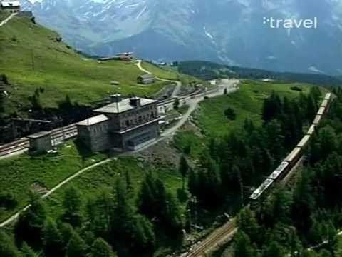 ▶ Swiss Railway Journeys - The Bernina Express (St. Moritz-Tirano) - YouTube