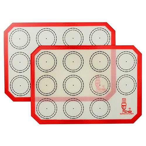Non Slip Silicone Pastry Mat Extra Large With Measurements 28 By