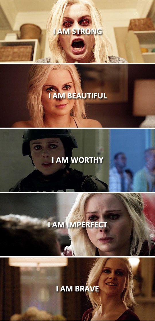 I am me. #izombie