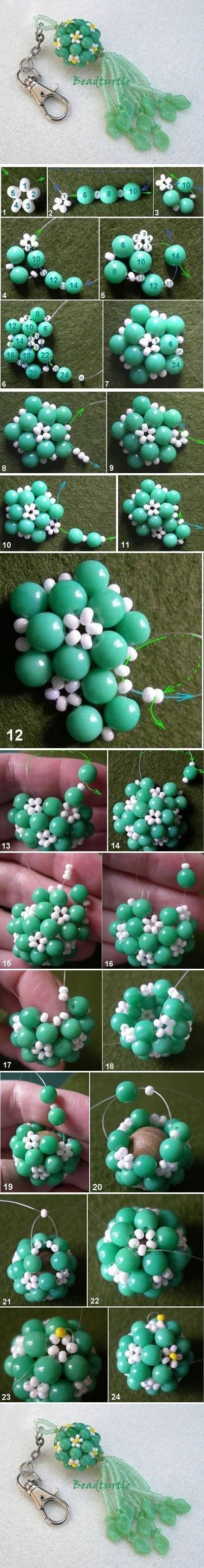 DIY Beaded Keychain Pictures, Photos, and Images for Facebook, Tumblr, Pinterest, and Twitter