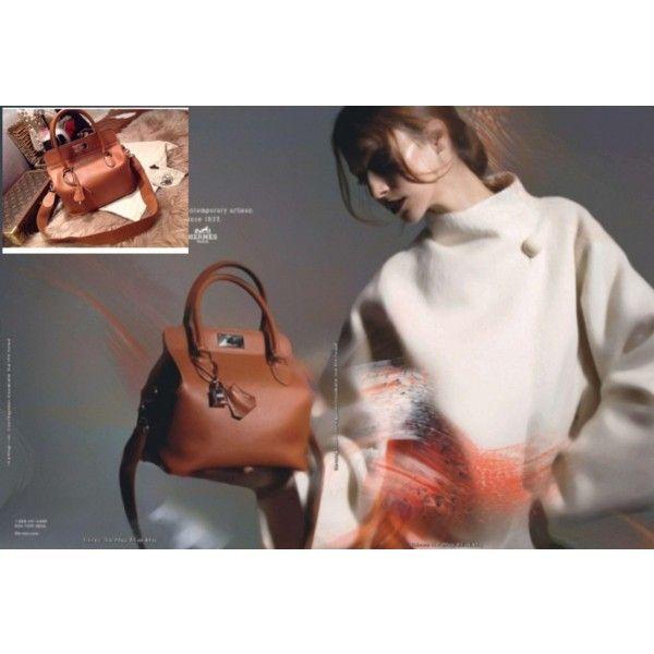 Hermes toolbox handbag by giyanzhong on Polyvore
