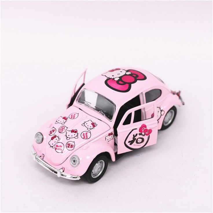 Hello Kitty Beetle Toy Car //Price: $17.99 & FREE Shipping // World of Hello Kitty http://worldofhellokitty.com/hello-kitty-beetle-car-toy-alloy-abs-kt-cat-cars-model-mini-pink-kitten-beetle-models-pull-back-kids-toys-brinquedos/    #collectibles