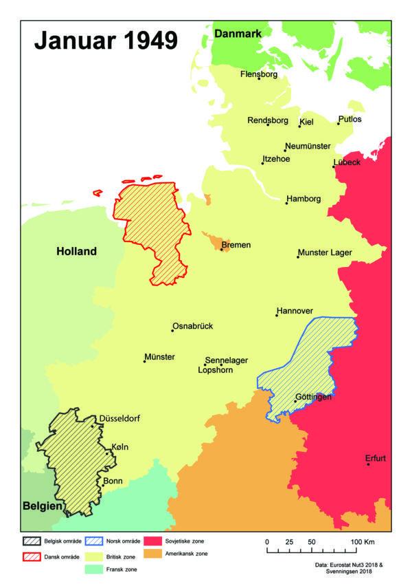 Den Danske Tysklandsbrigade Var Udstationeret I Nordtyskland Ved Den Hollandske Graense Foto Illustration Fra Bogen I 2020 Tyskland Kold Krig Den Kolde Krig