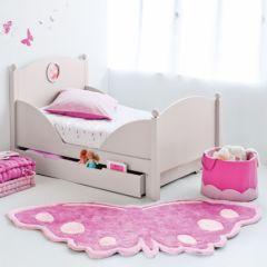 tapis papillon pour chambre d'enfant tapis enfant forme papillon protection sol et decoration nature, fév. 2011