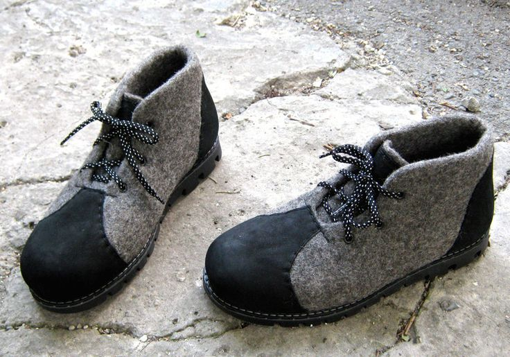 Felt footwear wool felt boots handmade to order-2 - http://shoebrand.net/felt-shoes-wool-felt-boots-handmade-to-order-2/