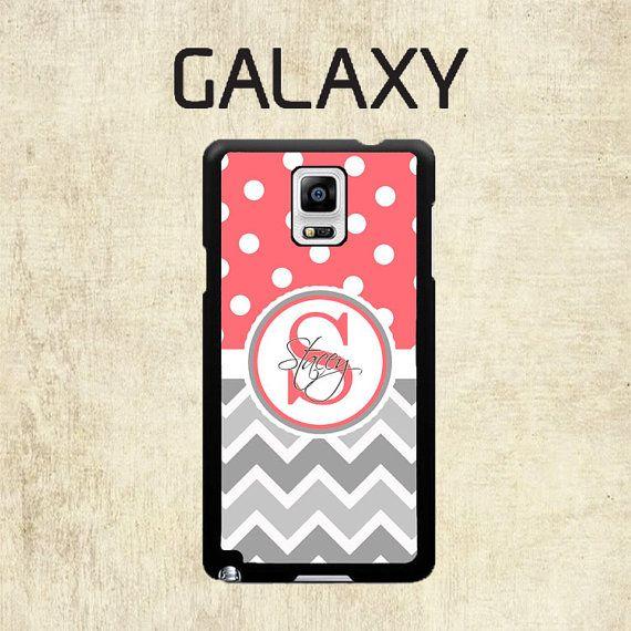 Galaxy S7 Samsung Galaxy S6 caso lunares Coral por mylittlecase