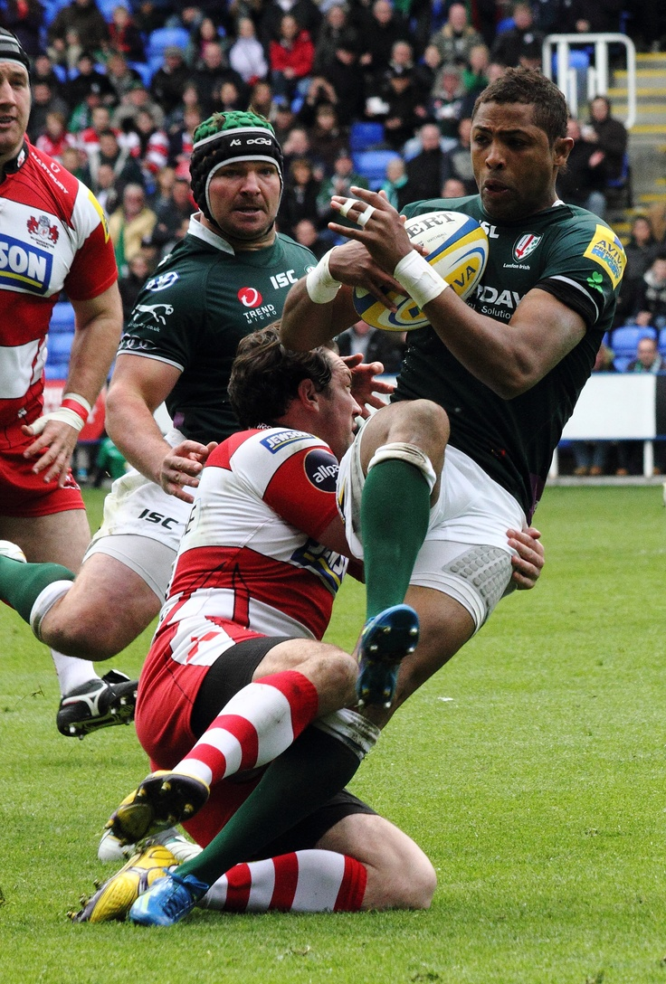 London Irish v Gloucester 5 May 2012