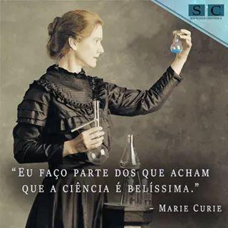Marie Sklodowska Curie 1867-1934 Bacharel e Doutora em fisica e matematica pela universidade de  Sourbonne em Paris. Premio Nobel de fisica em 1903 e de quimica em 1911.