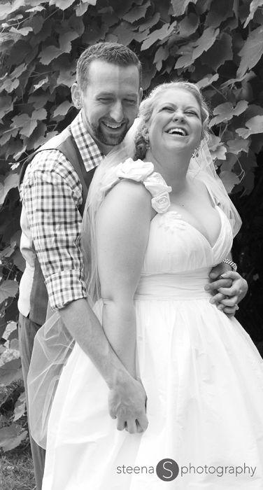 wedding groom bride happy