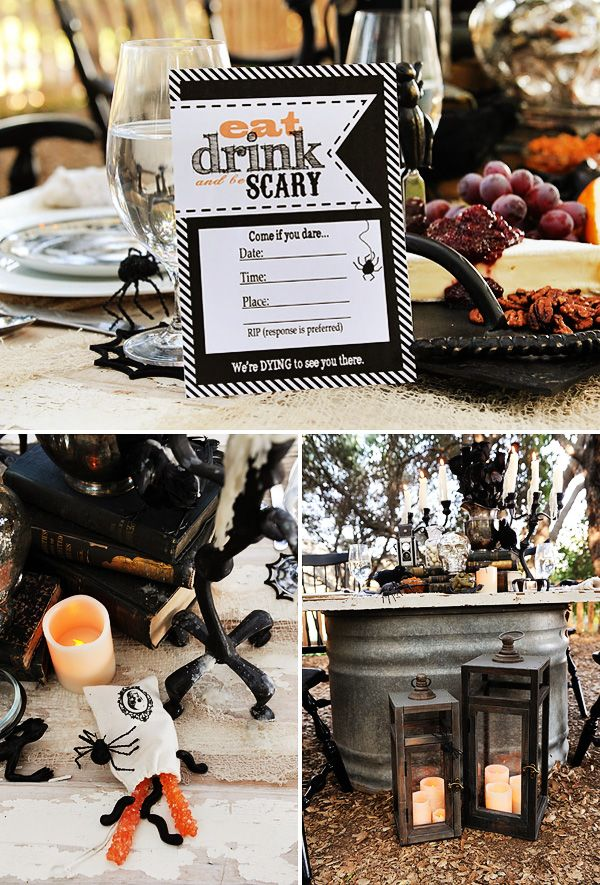 Halloween Dinner Party Ideas For Adults Part - 27: Pinterest