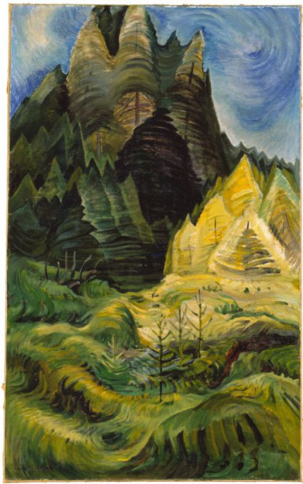 Reforestation - Emily Carr, Group of Seven, Canada