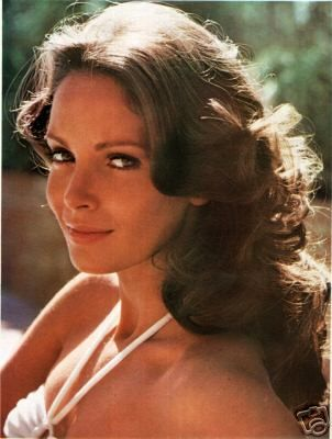 Jaclyn Smith. love the old Charlie's Angels. I thought she was the most beautiful woman ever. When I played Charlie's Angels I was always her.