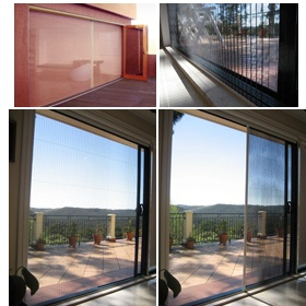 retractable screens with bi-fold doors