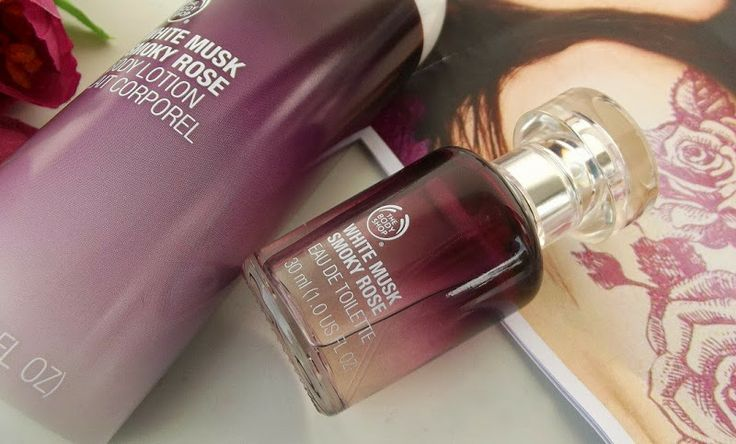The Body Shop White Musk Smoky Rose via blushingloves