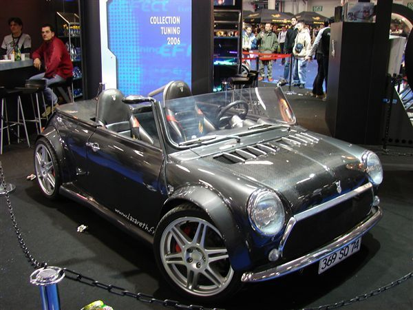 Mini with V8 engine
