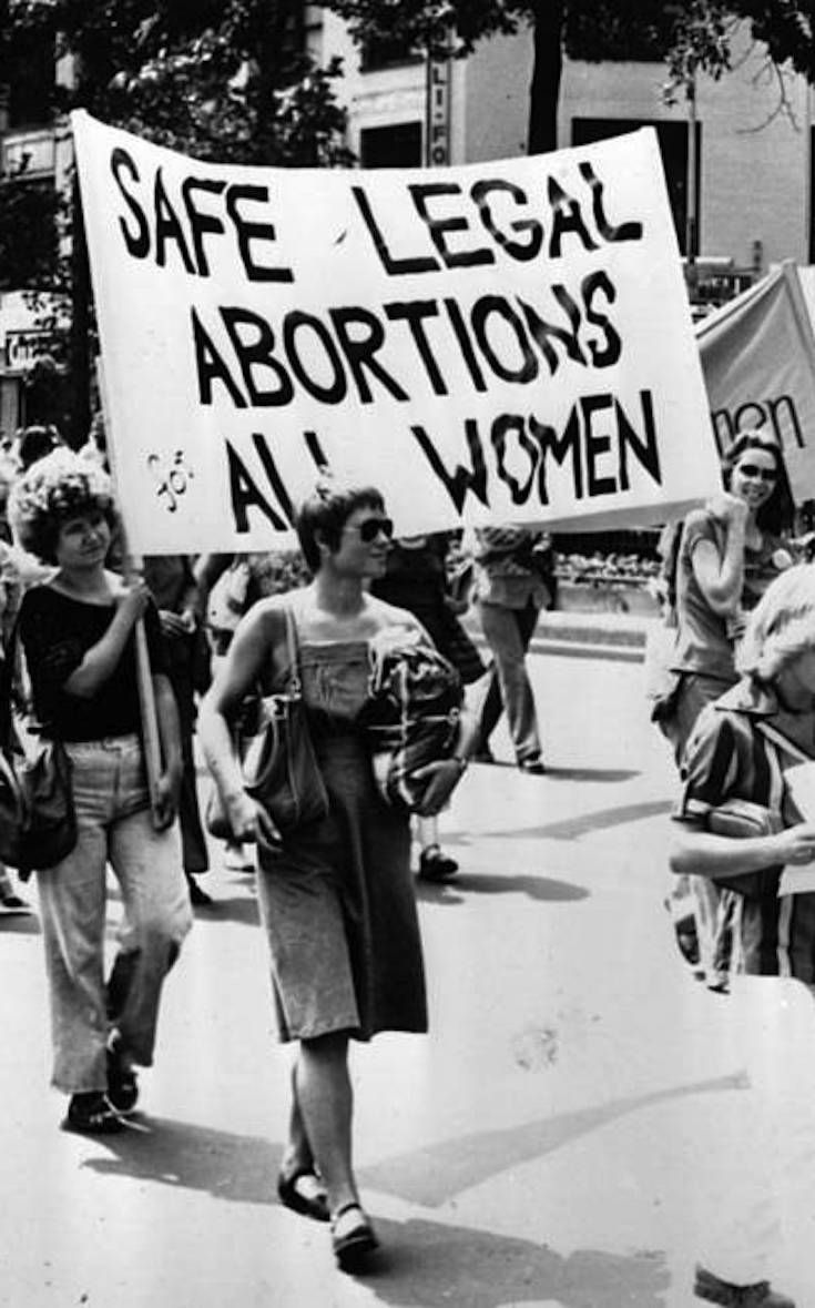 "Quote article: ""Banning abortion does not stop the practice,"" journalist George Monbiot argued in the Guardian. ""It merely makes it more dangerous."" - the story of an underground abortion clinic before abortion was legal"