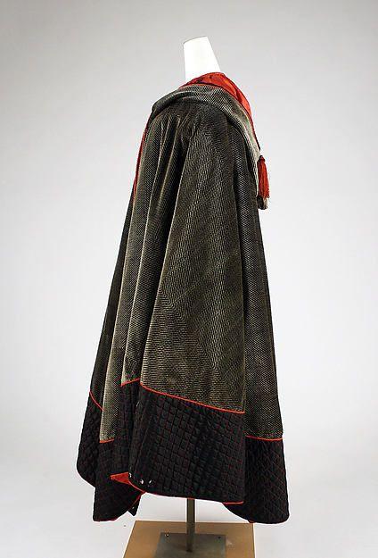 Cape (image 2) | American | 1850-1860 | silk | Metropolitan Museum of Art | Accession #: C.I.50.5.14