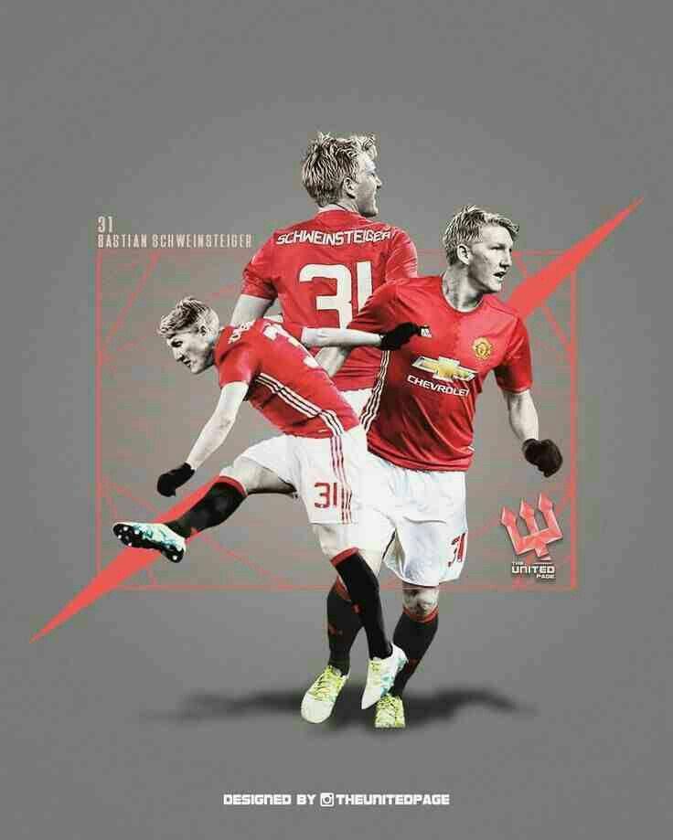 Bastian Schweinsteiger of Man Utd wallpaper.