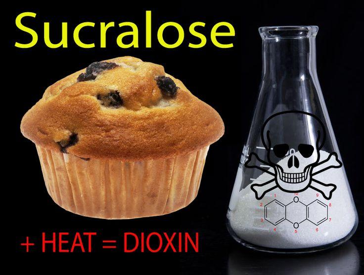 Sucralose's (Splenda) Harms Vastly Underestimated: Baking Releases Dioxin