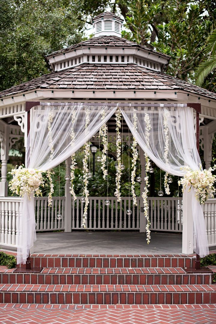 Gorgeous Garland Wedding Inspiration - the perfect hanging wedding decor!  ~  we ❤ this! moncheribridals.com