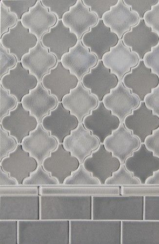 Small arabesque mediterranean bathroom tile;master shower