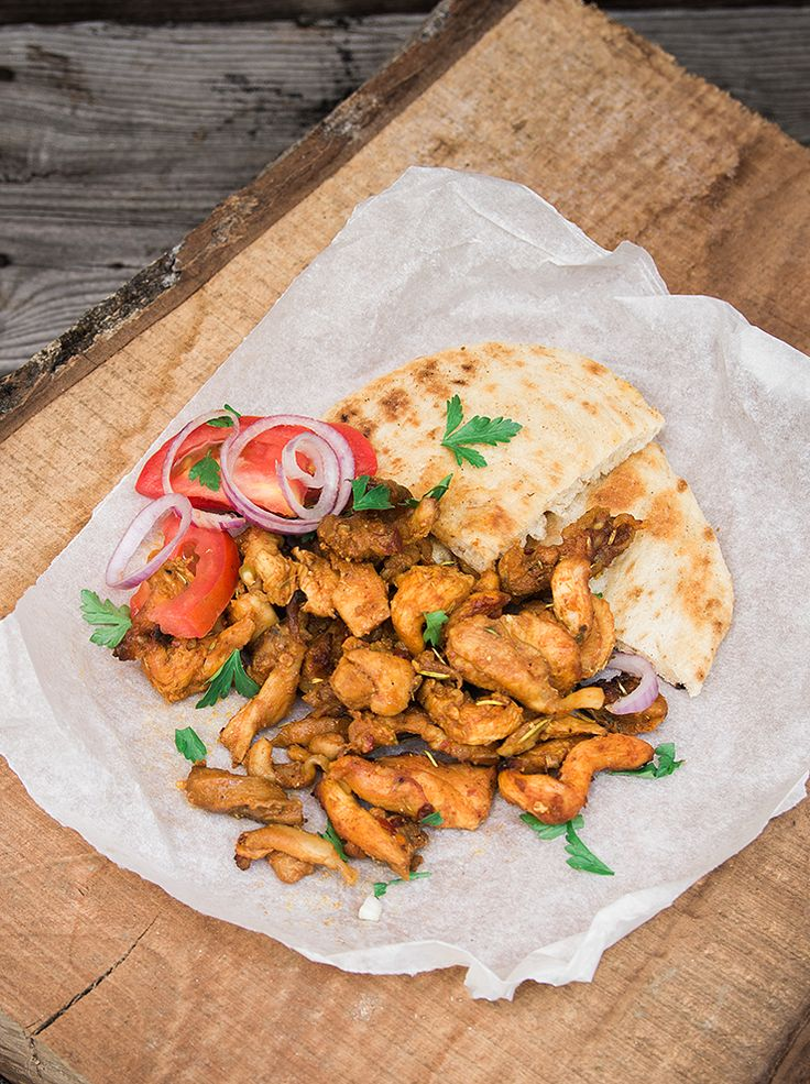 Γύρος κοτόπουλο vol.1 | με κρέας | βουρ στο ψητό! | συνταγές | δημιουργίες| διατροφή| Blog | mamangelic