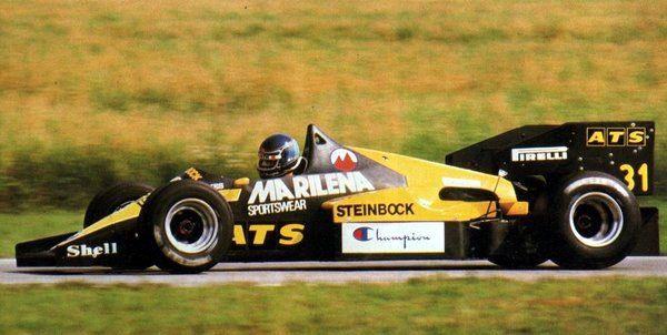 Gerhard Berger (Team ATS), ATS D7 - BMW