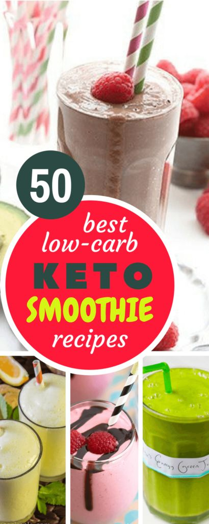 50 Healthy Keto Smoothie and Shake Recipes. Avocado and other Green Keto Friendly Smoothies, to complete your Keto Diet Meal Plan.