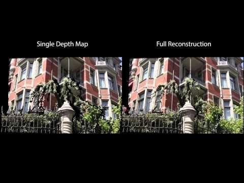 Scene Reconstruction from High Spatio Angular Resolution Light Fields - YouTube