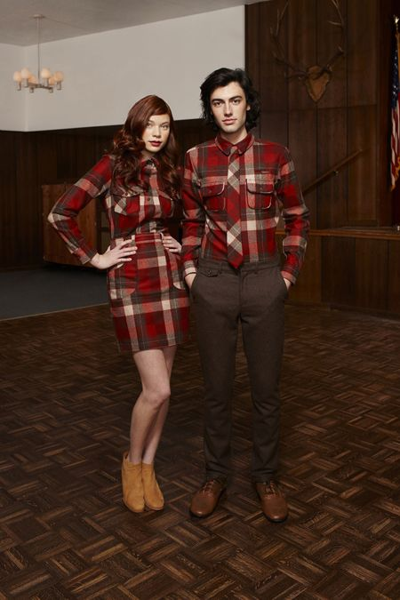 Matching.Portland Collection, Matching Flannels, Style, Pendleton Portland, Dresses, Couples Matching Outfit, Plaid Shirts, Fall Fashion, Honey