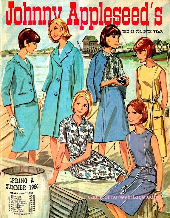 Vintage 1966 Johnny Appleseed's Clothing Catalog by CapricornOneEphemera, $12.00