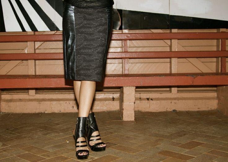 Fashion Blogger - Marina De Giovanni featuring the McQueen Skirt