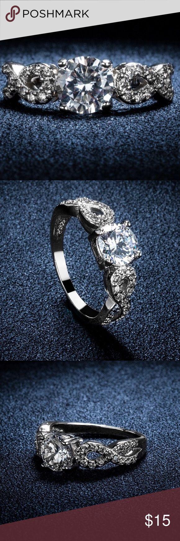 Selling this Stylish ring size 8! on Poshmark! My username is: dinai88. #shopmycloset #poshmark #fashion #shopping #style #forsale #Jewelry
