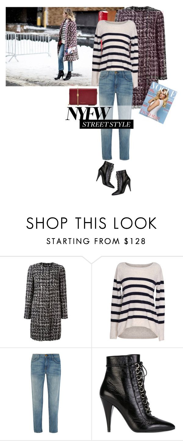 """""""NYFW Street Style"""" by larizoid ❤ liked on Polyvore featuring Dolce&Gabbana, Velvet by Graham & Spencer, Current/Elliott, Yves Saint Laurent, Marc Jacobs and Alaïa"""