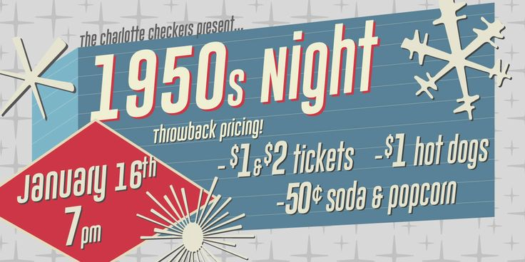 The Charlotte Checkers Are Selling Tickets For $1 To Celebrate Their First Game In The 50s