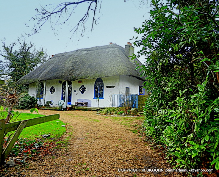 THE HERMITAGE THATCHED COTTAGE HANWELL - 1809