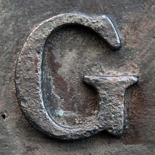 Letter G (photo  by Leo Reynolds)