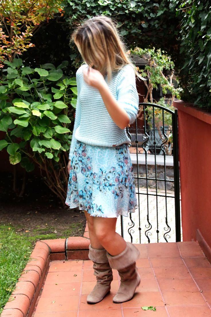 BURCU ARKUT: Skirt and Sweater Together with Designroom - No.02