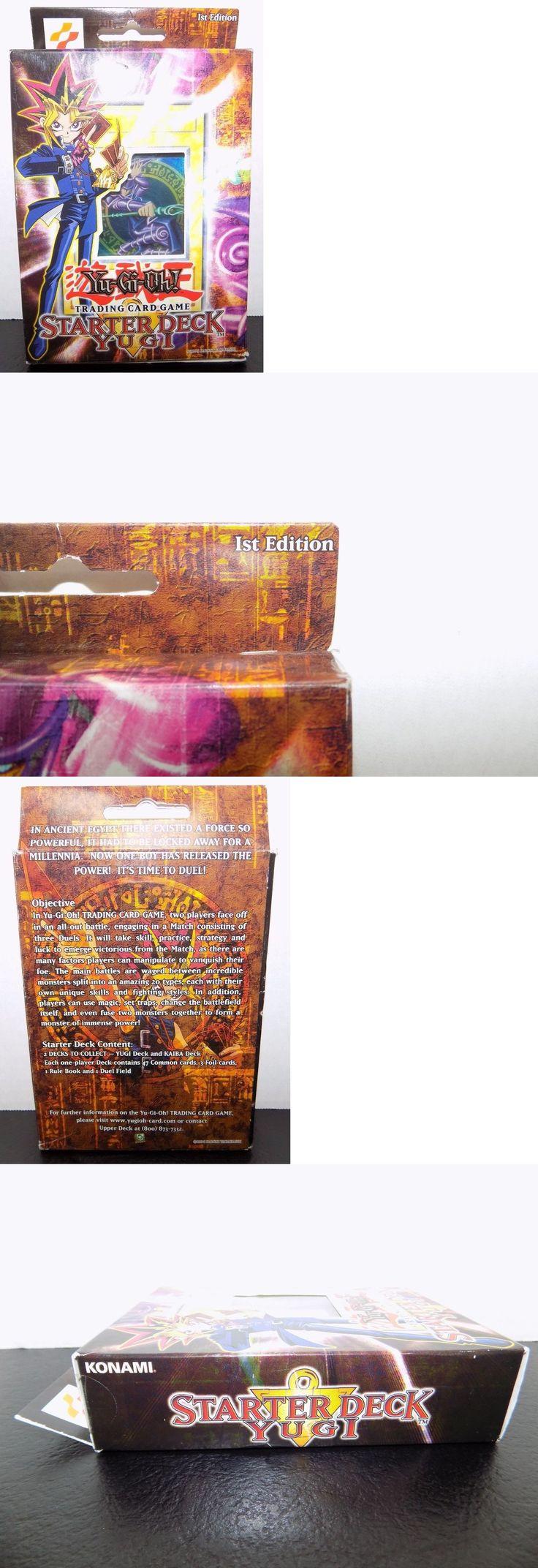 Yu-Gi-Oh Sealed Decks and Kits 183452: Starter Deck Yugi Sdy 1St English Edition Original Yugioh Deck New Sealed -> BUY IT NOW ONLY: $305.99 on eBay!