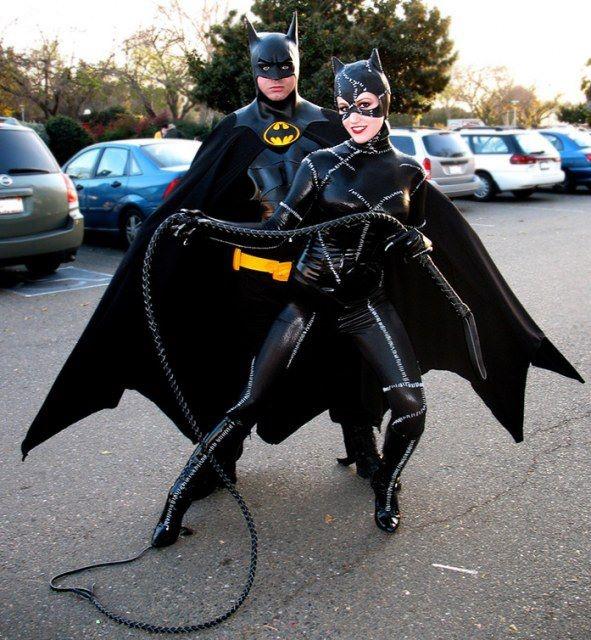 batman and catwoman ...meyow