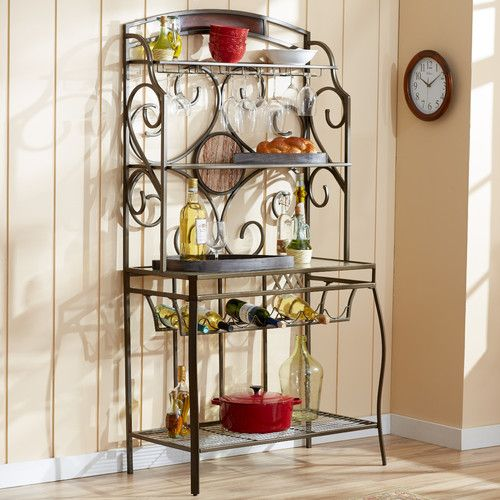 Found it at Wayfair - Abel Baker's Rack - Perfect to put my tv on in my living room