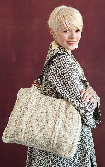 Ravelry: Dolce Tote pattern by Dora Ohrenstein: Crochet Bags, Purse, Bufanda Cuello, Crochet Pur, Dolce Totes, Crochet Patterns, Bolsa Crochet, Crochet Today, Crochet Handbags