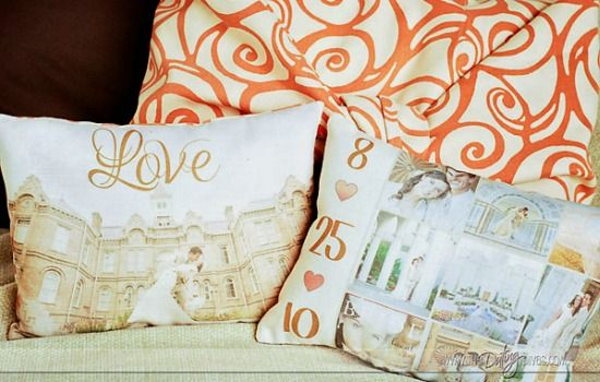 Create a photo pillow for his birthday, anniversary, valentines day, Christmas or just because. Absolutely love this site. DIY Photo Pillow
